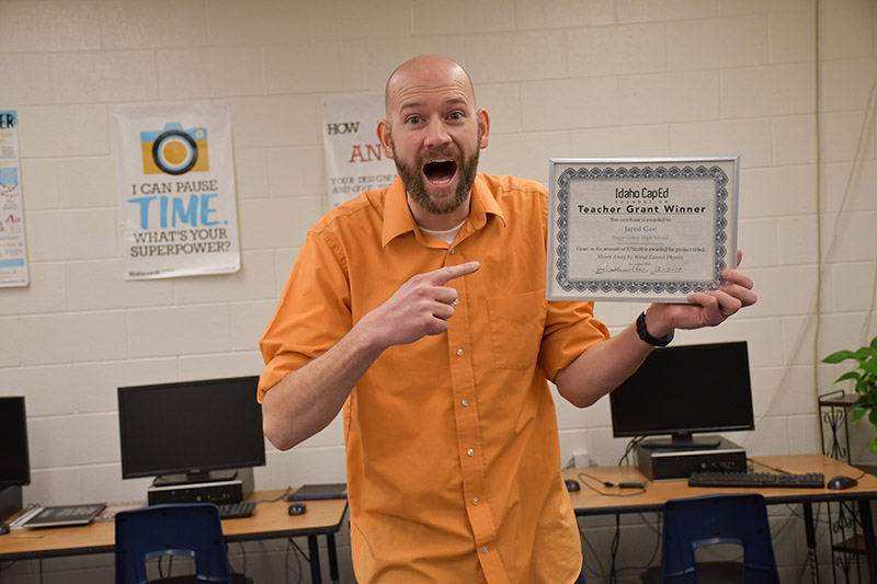 Jared Gee - Idaho CapEd Foundation Teacher Grant Winner